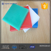 pe 1000 HMWPE sheet stock, blue hdpe board