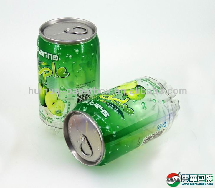 2014 Cold Filling PET Plastic Drinks Can
