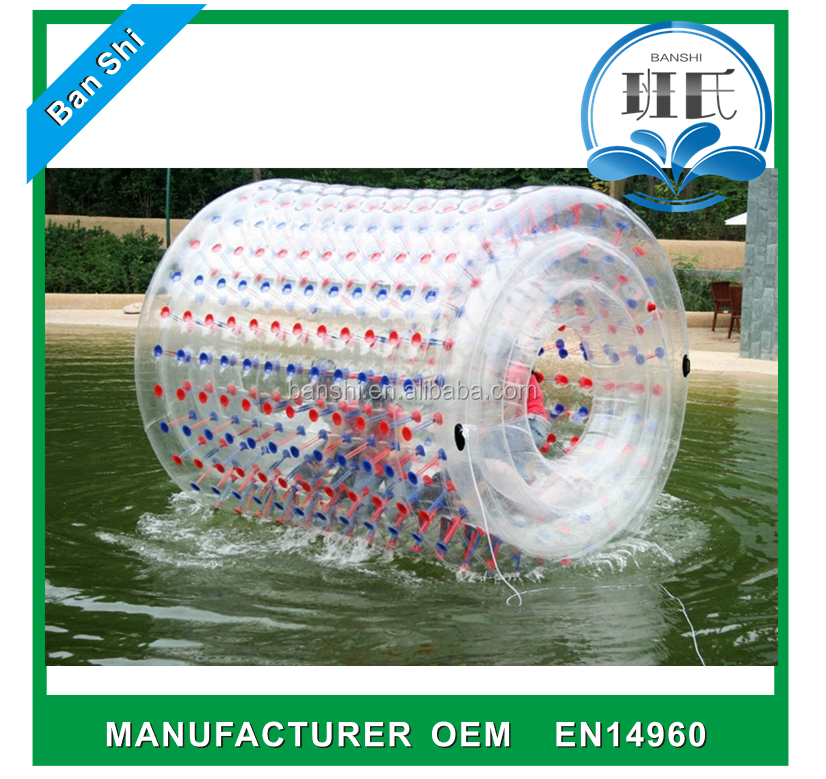 Commercial roll inside inflatable ball, water zorb balloon, inflatable zorb ball