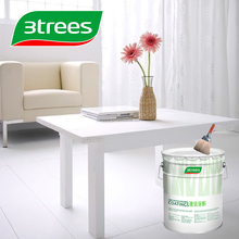 3TREES Archaistic white color PU Furniture Paint Sealer