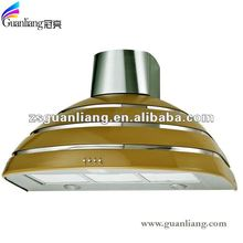low offer!!!wall mounted 90CM plastic colourful halogen lamps kitchen appliance range hood