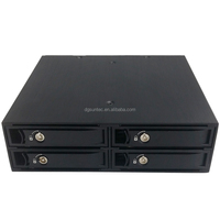 2.5in 4 Bay hdd enclosure fashion lock design hdd enclosure with sata mobile rack