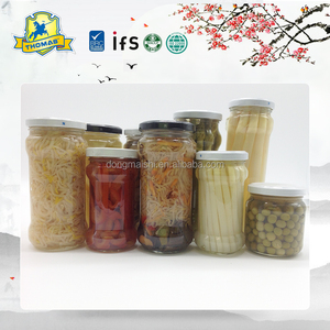 Main product different types seasoned jar White Asparagus