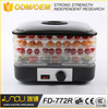 Factory deirectly square transparent home food dehydrator machine