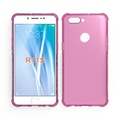 Crystal TPU Anti-knock Edge Design Full Clear Case For Oppo R11S Cover
