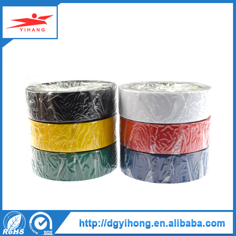 Alibaba Con Best Price Pvc Black 0.15Mm Electric Tape Ul Sgs Approved Insulation Wire Tape