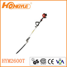 25.4cc gasoline pole hand hedge trimmer for hot sale
