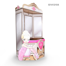 Advertising Floor Cardboard Stand POS Paper Display for Barbie Doll