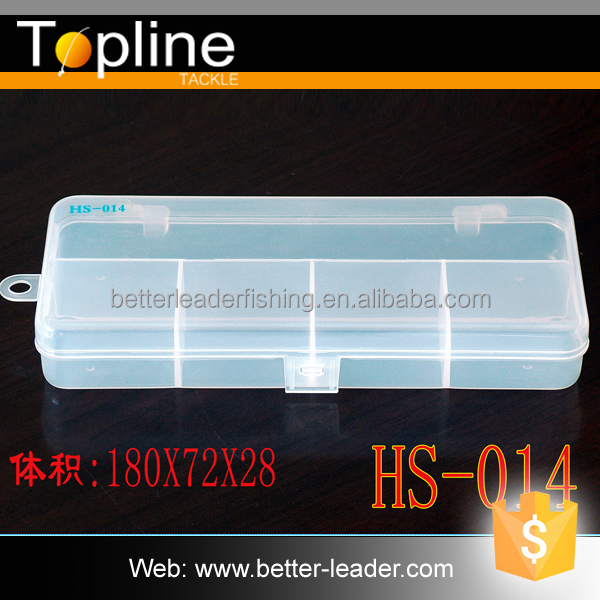 HS014 custom rotational molding hard plastic fishing box