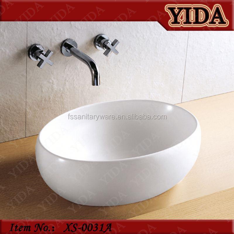Lavandino del bagno di ceramica lavabo sopra lavatrice for Lavabo sopra lavatrice