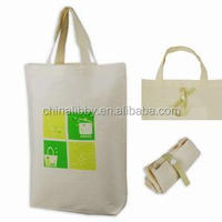 custom high quality Cotton Foldable bag