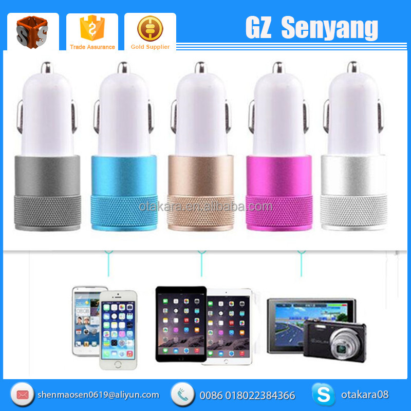 Hot Sale Portable Quick Charge 2.0 Micro Usb Car Charger 2016 Usb In Car Charger Phone