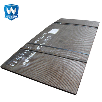 China factory Hardfaced wear plate for vibrating feeders