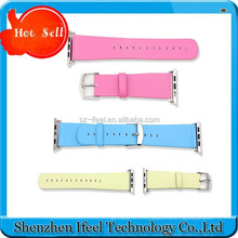 High Quality Bracelet Wrist Watch Band PU Leather Wristbands Replacement Wrist Band for Apple Watch