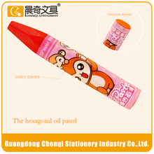 High quality promotional 24 colors oil pastel