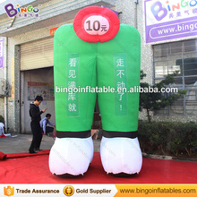 Custom made inflatable advertising trousers replica, inflatable pants for sale