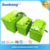 Deep cycle 48V lithium iron phosphate battery pack lifepo4 battery pack 48v 12ah for outdoor solar light