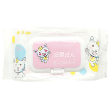 Eco-friendly Soft Touch Disposable Face Cleaning Baby Wet Wipes