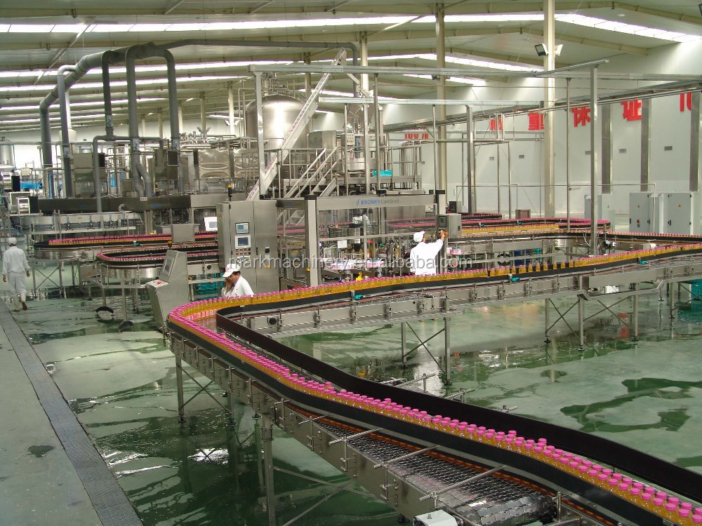 fresh fruit/concentrate juice processing plant