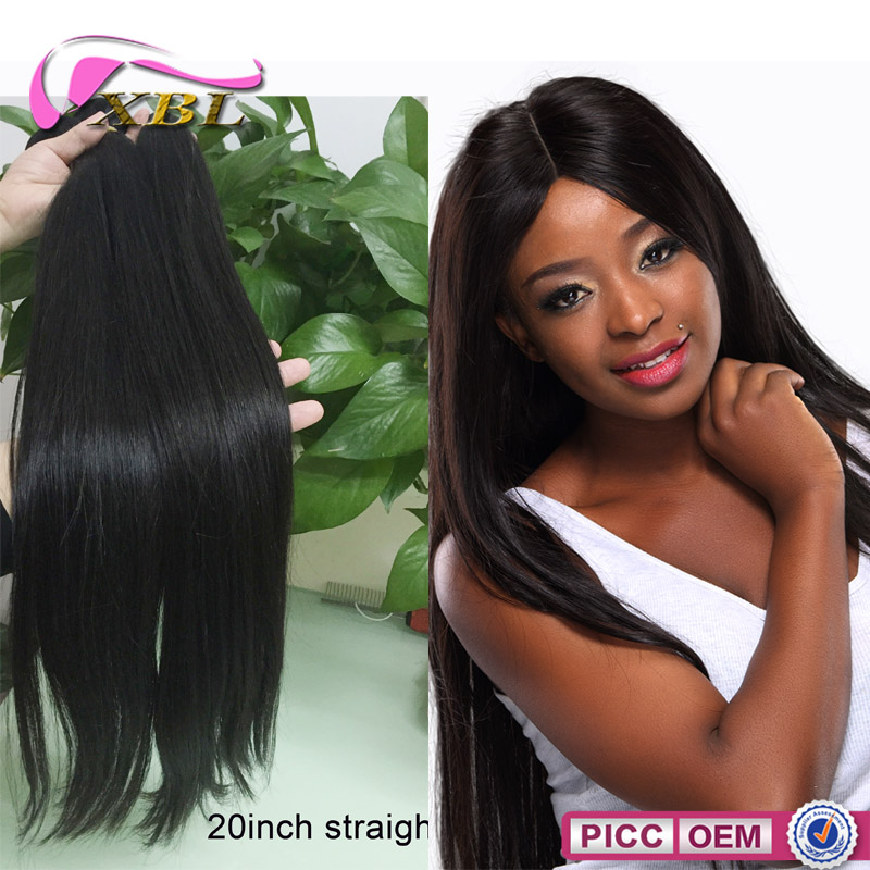8A Indian Straight Human Hair,20 Inch Indian Straight,Indian Perm Straight Hair