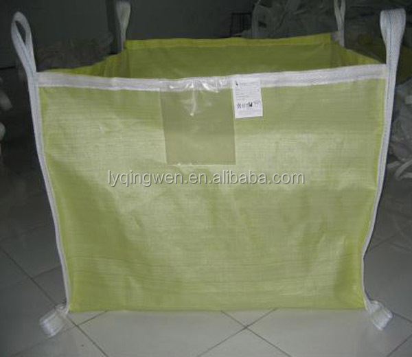 PP bulk bag with <strong>U</strong>+2 type, Safety factor:5:1 packing for 2 ton sand seed wheat corn