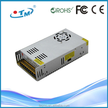 China supplier ip20 360w power supply 12v 30a led driver ac to dc rotary phase converter