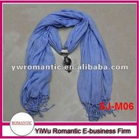 2012 new hot sale wholesale scarf jewelry