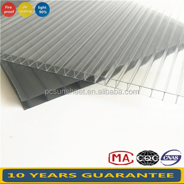2100*5800mm Polycarbonate sheeting from China, colored polycarbonate sheet