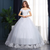 WTY81 Hot princess wedding dress 2016 plus size fashionable cheap wedding dresses wedding gown