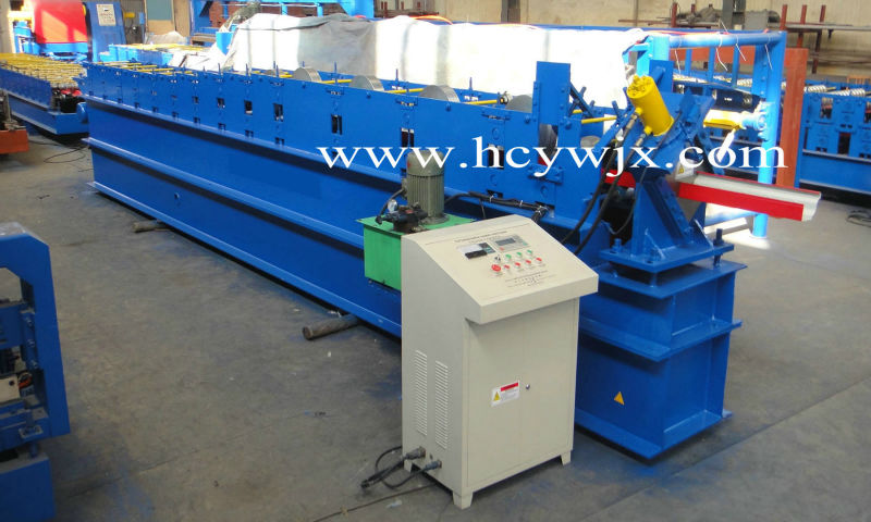 Widely used steel gutter machines for sale