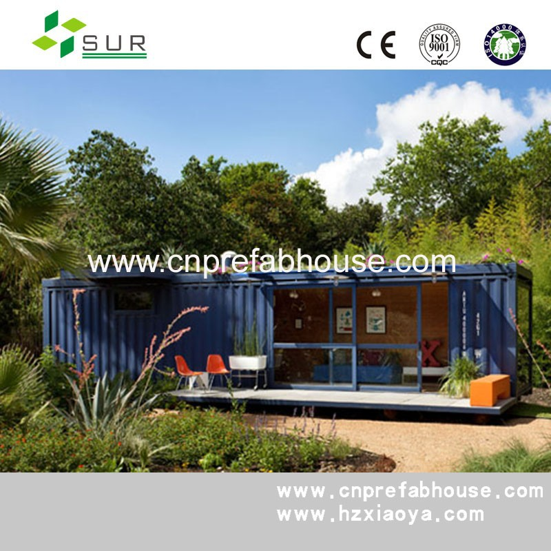 various style simple built portable prefab home/house/villa/apartment with solar panels-Top Build
