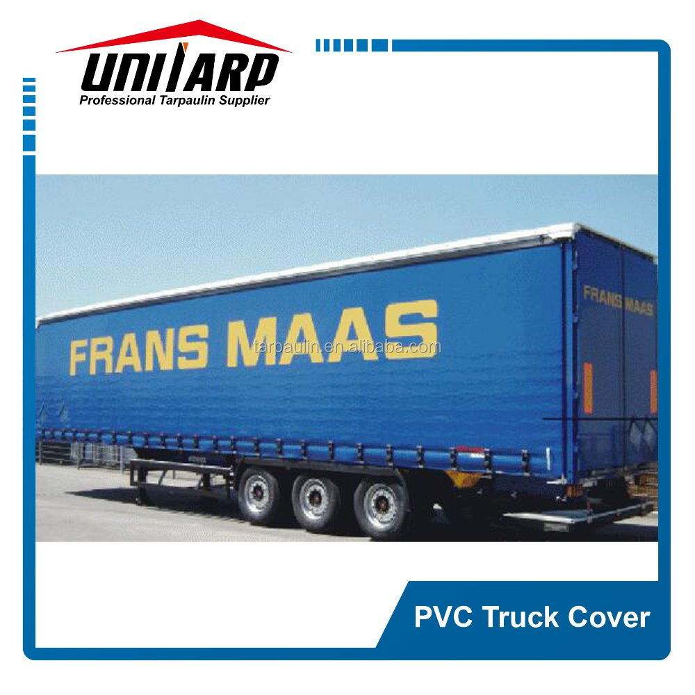 pvc sliding truck body side curtain cover