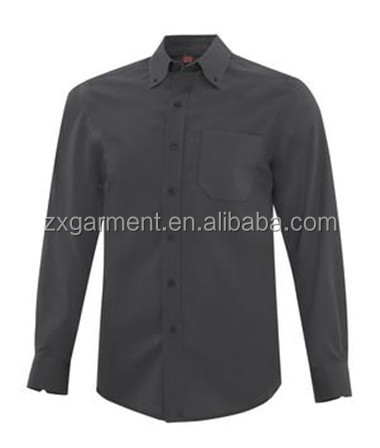 Everyday long sleeve woven shirts china apparel factory