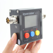 NEW SURECOM SW-102 SO239 125-520 Mhz Digital VHF/UHF Power&SWR Meter For Car Radio Transceiver