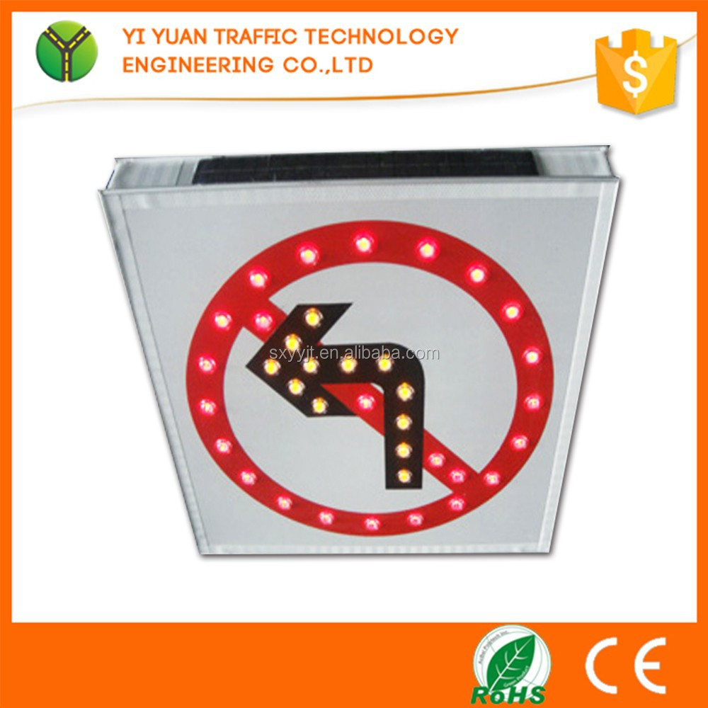 Sold worldwide traffic safety portable MINI led sign board price