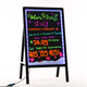 2017 new fashion luminous neon writing board message home led fluorescent writable menu sign display board