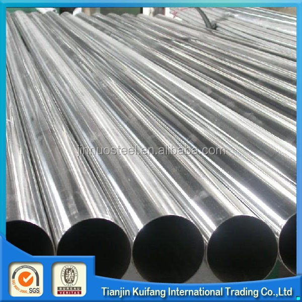 SCH 40 export round 202 grade stianless steel pipe