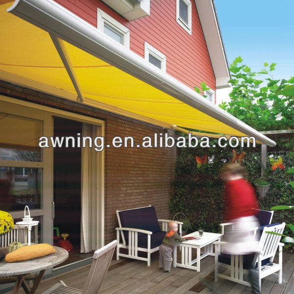 outdoor iron awning