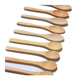 2018 Hot Sale Wooden Bamboo Cutlery Reuse Dessert Bamboo Spoon For Children