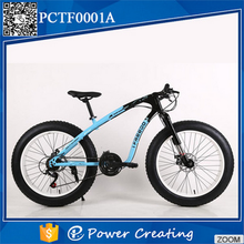 Attractive 26 inch 21 speed double disc brake fat tyre bicycle
