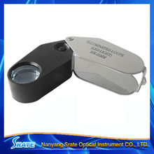 LED Illuminated Jewellery Loupe Diamond Magnifier