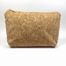 OEM cork portugal bag women bag cosmetic pouch