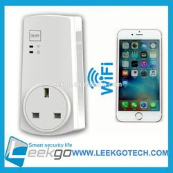 LEEKGO Tunersys Easy-setup universal WiFi Smart Socket for smart home automation system 1WJ-AH0P-A