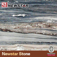 Newstar Luxury Natural Palisandro blue marble tile palissandro marble slab