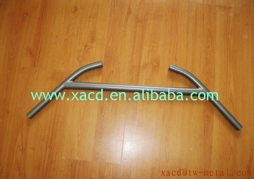 XACD Ti bike parts customize mtb bike handlebar TT bike handle bar Made 500mm