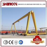 Wheels Travelling Gantry Crane
