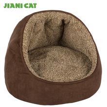 cozy craft cheap plush animal shaped fabric pet bed