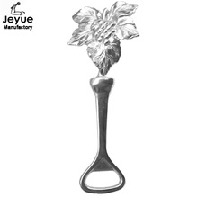 Wedding Souvenirs and Party Supplies Silver Leaf Bottle Opener