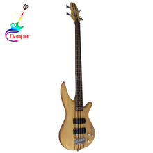 Danpur China import 24 fret neck through electric bass guitar