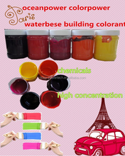 Water based pigment paste / colored paint / soluble colorant for ext&interior wall